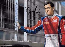 Guilano appena firmato, GP3 Team Trident Ritratto 2016