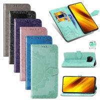 Handytasche Flip Cover Etui Buch Hülle Klapp Case Mandala Für Xiaomi Poco X3 NFC