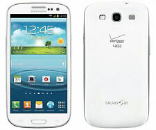 New Samsung Galaxy S III SCH-I535 Verizon 16GB Smartphone Marble White