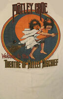Vintage MOTLEY CRUE HALLOWEEN T Shirt WhiteTour Unisex Size S-4XL FF482
