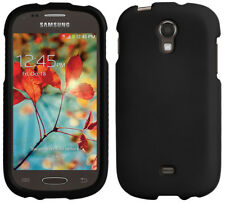 BLACK RUBBERIZED HARD SHELL CASE PROTEX COVER FOR SAMSUNG GALAXY LIGHT T399
