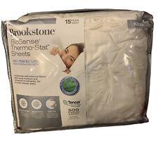Brookstone® BioSense 500-Thread-Count Lyocell Sheet Set