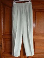 Pantalon vert taille 32 34 hauteur 96,5 cm
