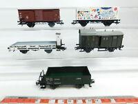 BG635-1 #5x Märklin H0/AC Wagon de Marchandises Kk : DB + DRG + K. W. St. E.