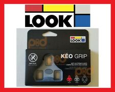 NEW Genuine LOOK KEO GRIP Road Pedal Cleats 4.5° Degree Float GRAY GREY