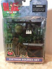 GI Joe Battle Gear 1998 Hasbro Vietnam Soldier Set Org Package Authentic