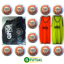 UNDER 4-8's PACK -  12 x GFUTSAL TOTALSALA 100 PRO, BALL BAG AND 2 SETS OF BIBS