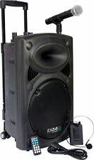 Ibiza Port12VHF-BT-WH Impianto audio portatile cassa attiva (700 Watt, (A6q)
