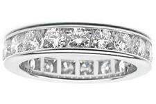 3.25 Ct. Traditional Round Diamond Eternity Wedding Band Ring In Platinum