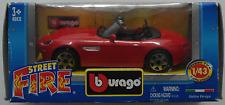 Bburago-BMW z8 rouge 1:43 Nouveau/OVP voiture miniature