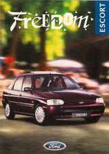 Ford Escort Freedom 1.4i Mk6 Limited Edition 1996 UK Market Sales Brochure