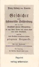 Grafschaft Hanau Münzenberg, Amt Bieber, Bergbau, Cancrin, Bieberer Bergwerke..