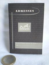 PETIT CARNET D'ADRESSE CALENDRIER REPERTOIRE HERMES 1956