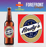 Personalised Beer/Lager Spoof bottle labels - Christmas/ XMAS GIFT/ Any occasion
