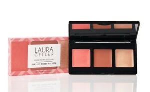 Laura Geller Made to Multitask Eye Lip Cheek Palette Perfectly Neutral NEW Boxed