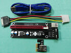 PCI E PCI-Expres x1 to x16 slot adapter riser card with 60cm USB3.0 Cable length