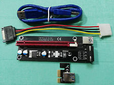 PCI_E PCI-Expres x1 to x16 slot adapter riser card with 60cm USB3.0 Cable length