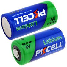 2x CR123A 3V 1500mAh Lithium CR123 123A CR17345 Camera Battery PKCELL