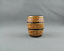 Vintage Barrel Shot Glass - Paitned Brown - Very Stylish