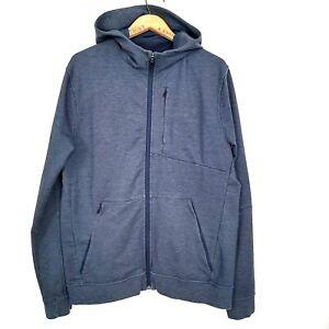 Lululemon Mens Size XL Heathered Navy Blue City Sweat Hoodie Jacket