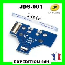 Connecteur de charge led usb manette PS4 14pin + nappe interne 14pin