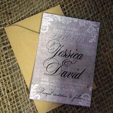 10 Personalised Wedding Save The Day/Night Fridge Magnets inc envelopes