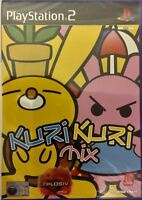 Kuri Kuri MIX PS2 PlayStation 2 Rare Video Game Brand NEW Sealed 2001 UK PAL