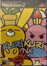 Kuri KURI MIX playstation 2 rare jeu vidéo pour PS2 neuf et scellé