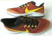 Nike Mens Air Zoom Pegasus 36 Trail Running Shoes Rugged Orange Size 9.5 NEW