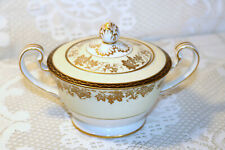 "Noritake China VALENCIA 5086 Made in Japan Large 3 1/2""h Sugar Bowl with Lid"