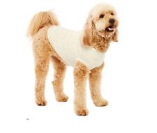 ST JOHNS BARK DOG PET CLOTHES COLOR - IVORY GOLD LUREX  SIZE LG NEW IN BAG