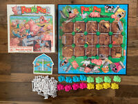 PEN THE PIG Vintage Board Game By Golden 1990 Retro Kids Game