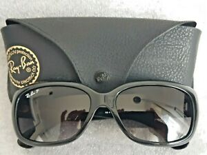 RAY BAN SUNGLASSES  RB 4101 JACKIE OHH 601/T3 POLARIZED 58-17 WITH CASE ITALY