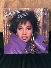 CHERYL LYNN START OVER 1987 CLASSIC EIGHTIES SOUL VINYL LP LUTHER VANDROSS