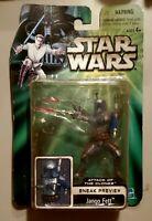 Hasbro Star Wars Attack of the Clones Sneak Preview Jango Fett Action Figure