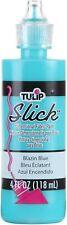 Blazin Blue Slick Tulip Dimensional Fabric Paint 4oz