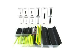 88pc Heat Shrink Wire Wrap Assortment Set Tubing Electrical Connection Cable