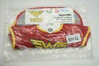 New Bumkins DC Comics Wonder Women 2 Pack 6-24 Months Super Bib No BPA