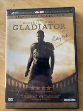 Gladiator signature selection widescreen 2 Dvd set Russell Crowe