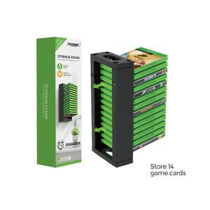 Game Card Box Disks Title Storage Stand Holder Practical Host Disc Storage Box