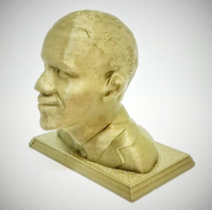 President Barack Obama 3D Printed Bust Statue Figurine Sculpture Choice of Color