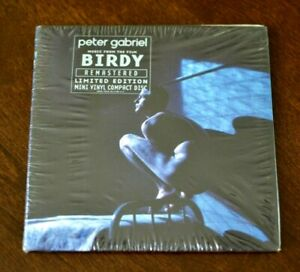 Birdy by Peter Gabriel (CD, Limited Edition, Remastered 'Mini-vinyl CD') NEW