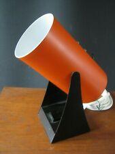 Retro modernist lamp Orange & Black (Anvia,, Hala, evolux, Perriand)