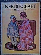 Needlecraft  Magazine  January 1928  Alice Beach Winter  VINTAGE ADS