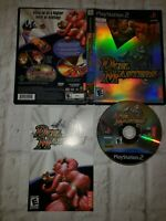 DUEL MASTERS - PS2 Limited Edition Sony PlayStation 2 Atari SEXY GAME