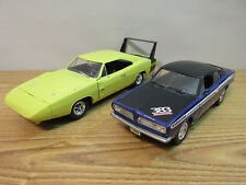 1/18 SCALE ERTL 1969 DODGE DAYTONA / PLYMOUTH BARRACUDA CHRYSLER YAT MING