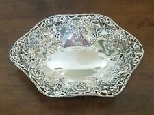 International Silver Company-Sterling Silver-Oval Bon Bon/Nut Dish
