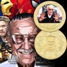 Souvenez-vous des pièces de monnaie Captain Marvel Collection de Stan Lee