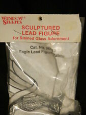 NEW Window Sillies EAGLE lead casting stained glass wings pattern