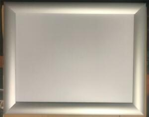 """Front Load Easy Open Snap Poster Frame, 8.5"""" x 11"""", Silver Anodized New in Box"""